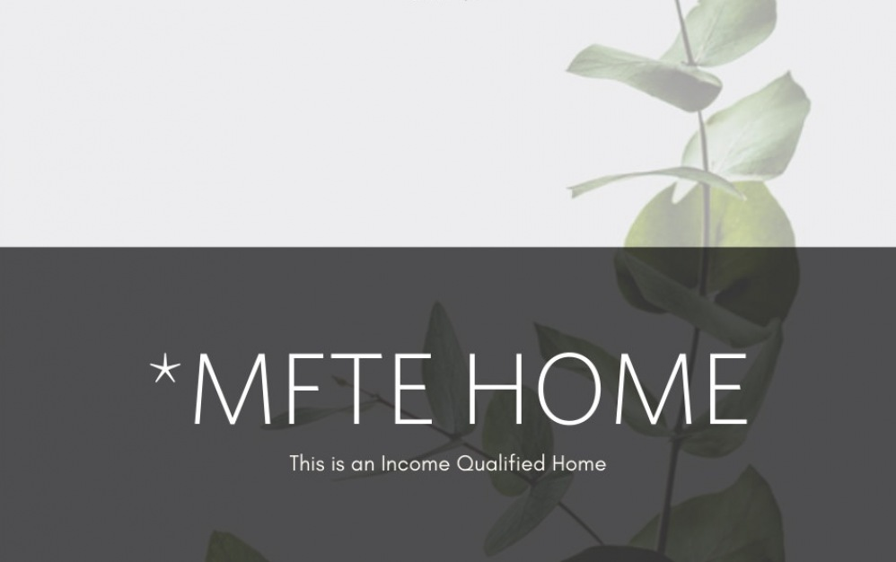 MFTE 2 Bed 2 Bath - 2 bedroom floorplan layout with 2 baths and 938 square feet.