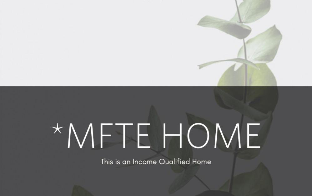MFTE Studio - Studio floorplan layout with 1 bath and 451 to 542 square feet.